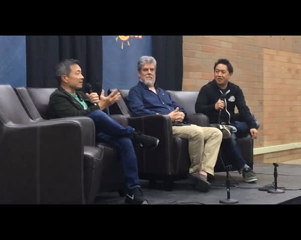 The Jim Lee Panel where he addressed THOSE Rob Liefled Tweets tastefully ... Mike Zapcic ... Not So Much
