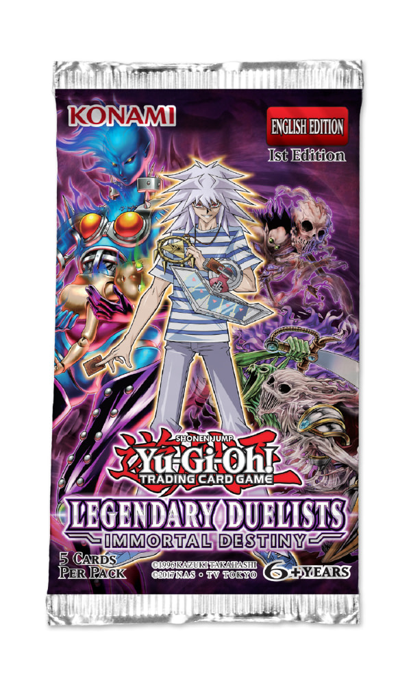 """Yu-Gi-Oh!"" TCG Reveals Legendary Duelists: Immortal Destiny"