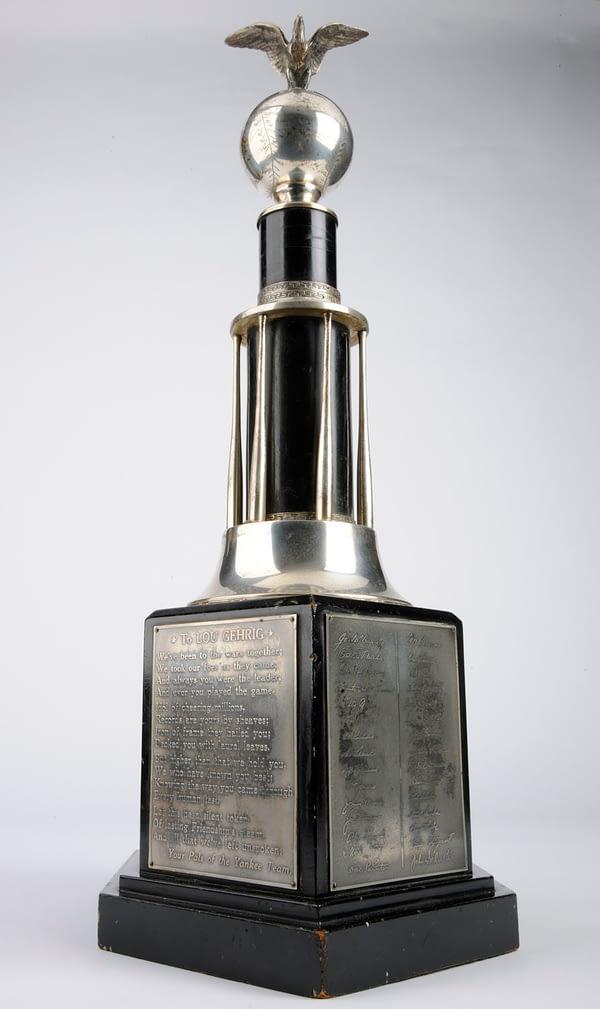 Gehrig Yankee trophy