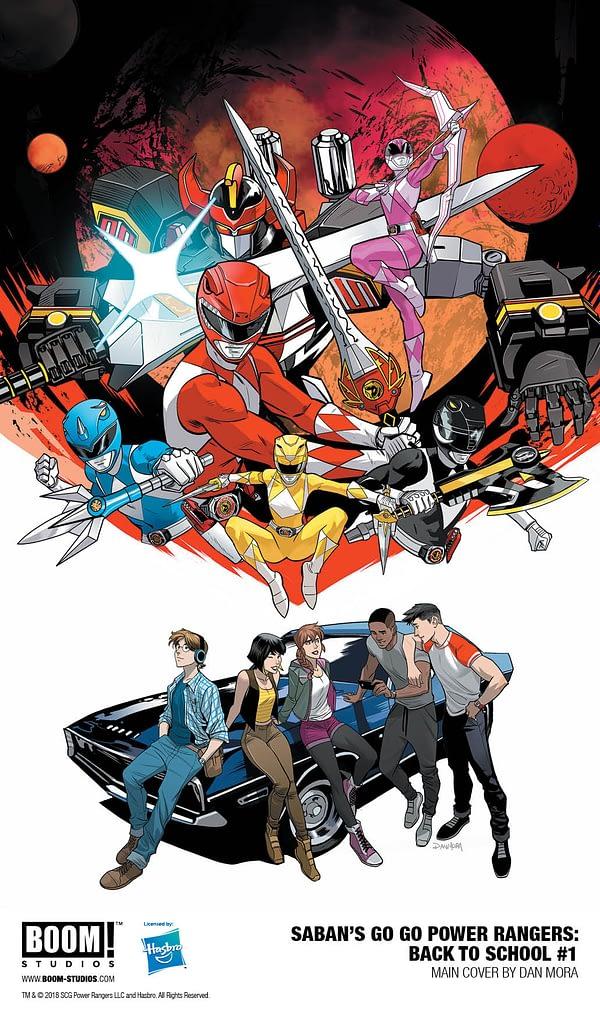 Go Go Power Rangers Back to school special