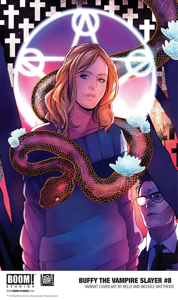 BOOM! Teases Top Secret Buffy Comic for Hellmouth Crossover via Variant Covers