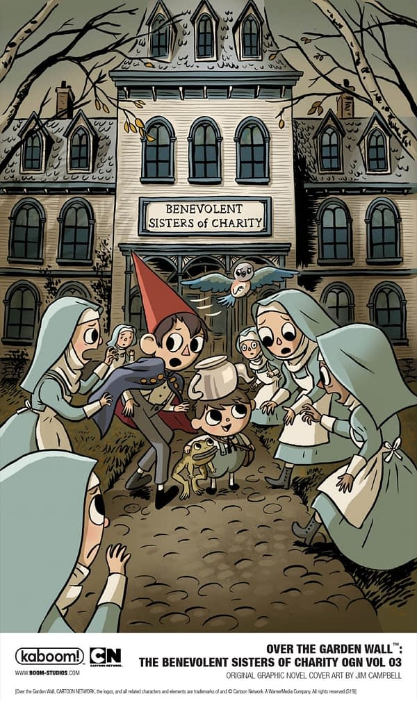 BOOM! Announces Another Over the Garden Wall OGN for 2020