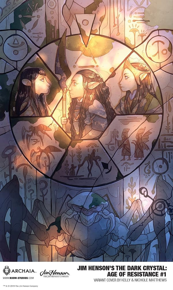 BOOM! Studios reveal first artwork for DARK CRYSTAL: AGE OF RESISTANCE tie-in series
