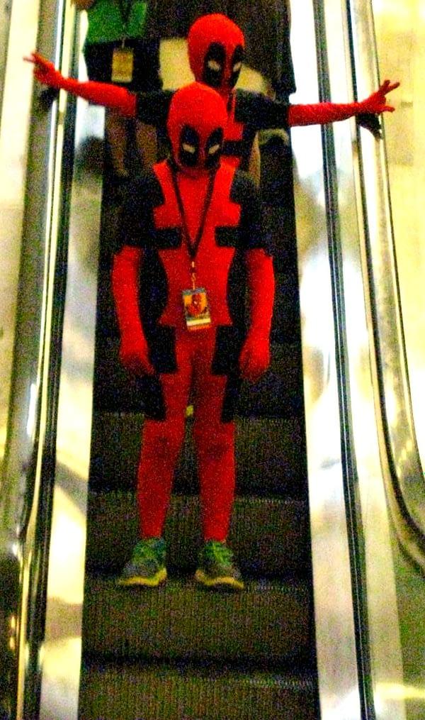 Deadpools Escalator