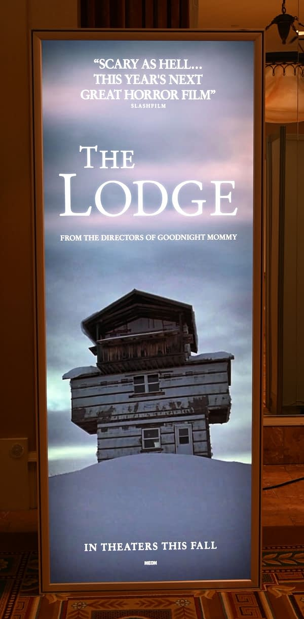 'The Lodge' Gets a New Poster at CinemaCon In Las Vegas