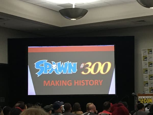 Image Comics: The Road to the Historic Spawn #300 and #301