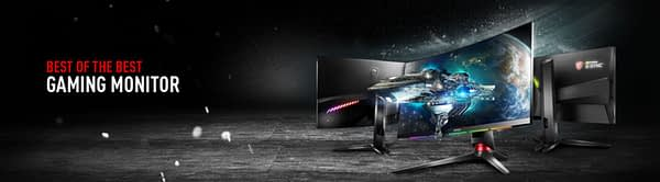 MSI is Now the World's Fastest-Growing Gaming Monitor Brand