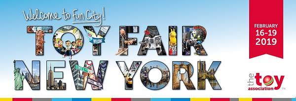 Toy Fair New York Banner