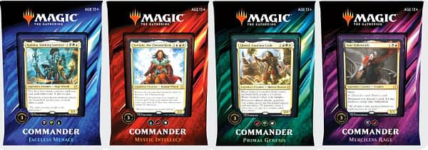 Commander 2019 packaging