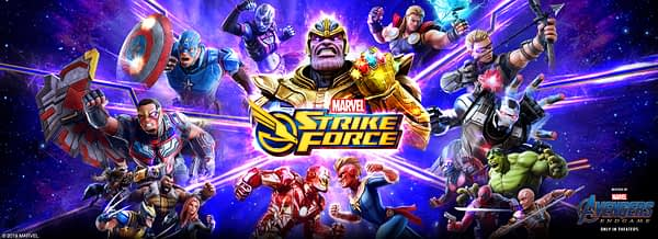 Marvel Strike Force Receives Avengers: Endgame Content With Film's Release