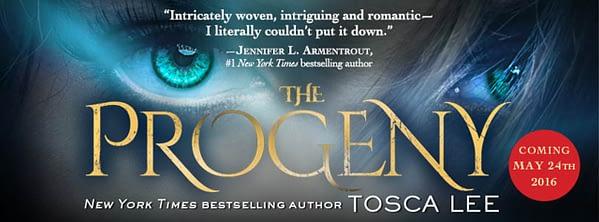 progeny lee supernatural novel tv series