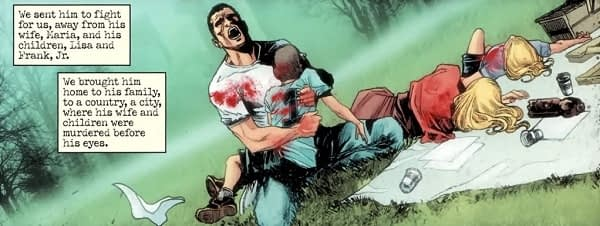 The Punisher's Origin Gets Destroyed in Savage Avengers #4