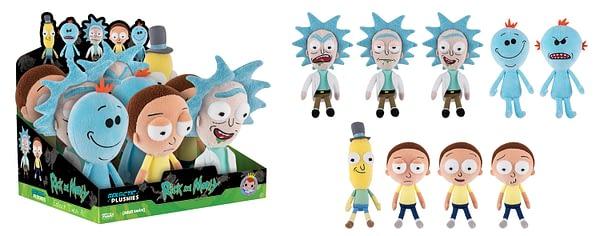 Rick and Morty Galactic Plushies