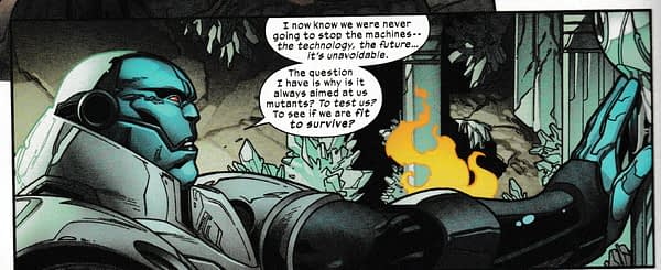 So Jonathan Hickman Thinks Hydra Are Nazis, in Today's Powers Of X #2