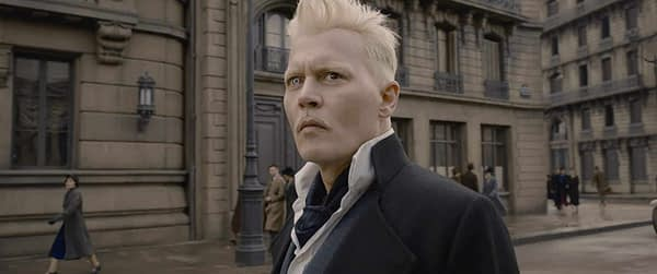 Johnny Depp Continues to Shatter the Magic of Fantastic Beasts: The Crimes of Grindelwald