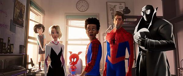 Spider-Ham and his amazing friends