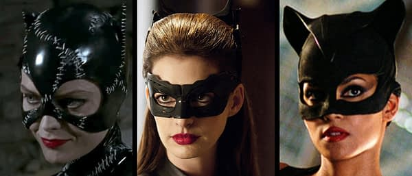 The Batman's foundational villain Catwoman, as seen through multiple reboots