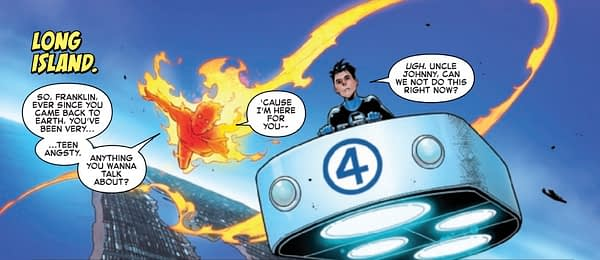 Hot, Maskless Doctor Doom Action in Fantastic Four #11 (Preview)