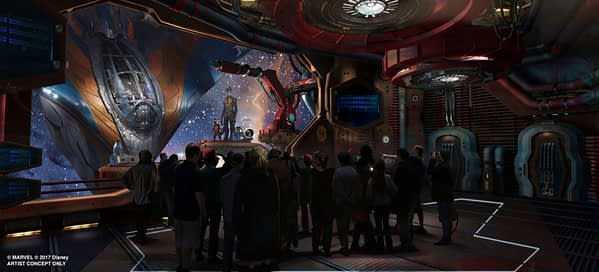 Guardians of the Galaxy at Epcot - will Guardians of the Galaxy 4 be far behind?