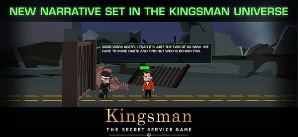 Kingsman: The Secret Service the Mobile Game Launches Wednesday