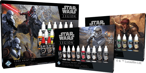 FFG Teams up with Army Painter for 'Star Wars: Legion' Paint Sets