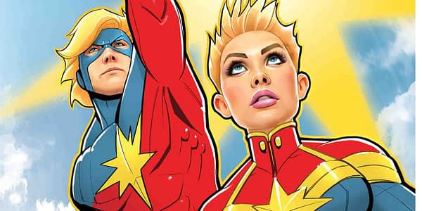 Cover to Generations: Captain Marvel by David Nakayama