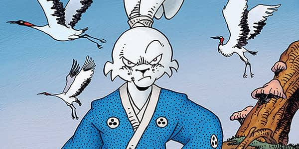 Usagi Yojimbo #163 cover by Stan Sakai and Tom Luth