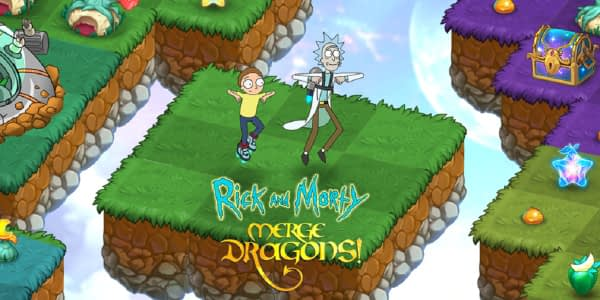 """Rick And Morty"" Drop Into Zynga's ""Merge Dragons!"" For An Event"
