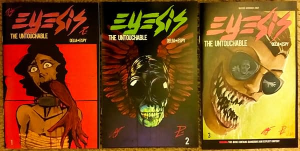 5 Eyesis Comics