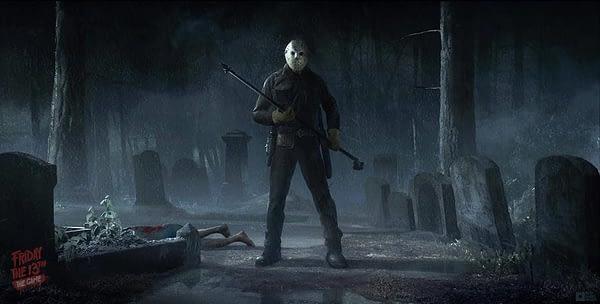 Friday the 13th Game - Gun Media
