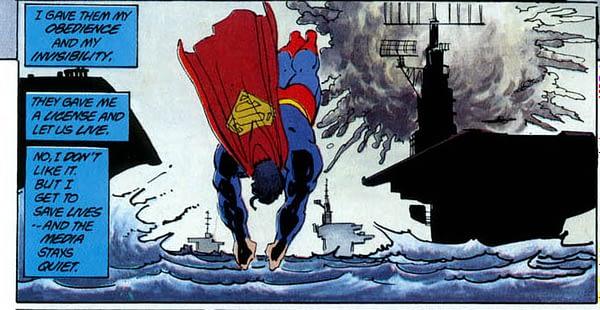 How Dark Knight Returns Changes Superman Year One (Spoilers)