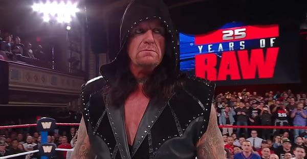 Raw 25 undertaker