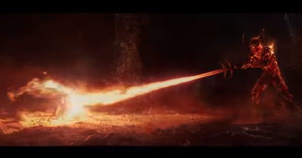 Surtur and the Sword of DOOM in Thor: Ragnarok