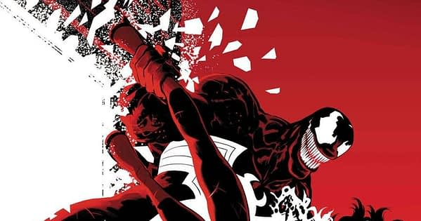 Venom #161 cover by Javier Rodriguez and Alvaro Lopez