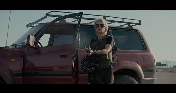 Sarah Connor is BACK in First 'Terminator: Dark Fate' Teaser Trailer
