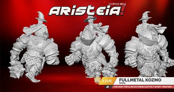 Fullmetal Kozmo is Bringing Heavy Metal Thunder to 'Aristeia!'