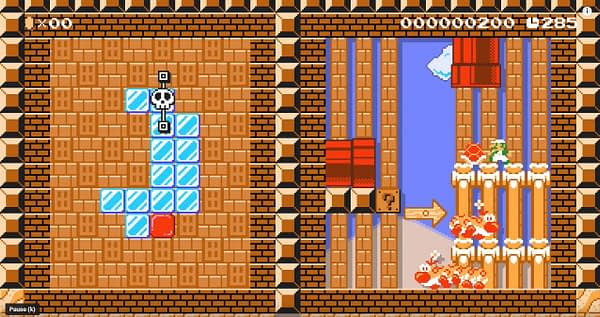 "Someone Made Classic Zelda Dungeons In ""Super Mario Maker 2"""