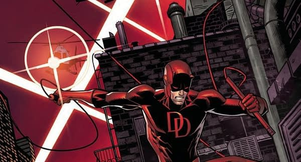 Daredevil #596 cover by Dan Mora and Juan Fernandez