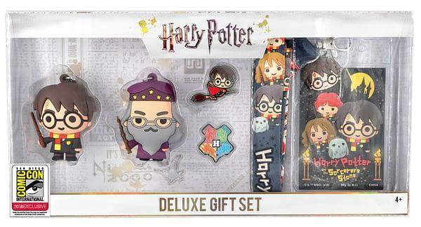 Monogram SDCC Exclusive Harry Potter Keyring Set