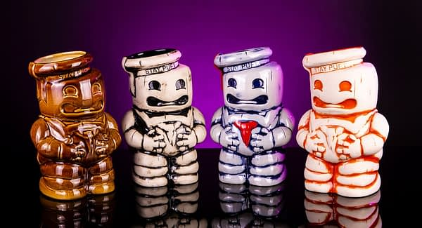 Mondo Ghostbusters Stay Puft Tiki Mugs