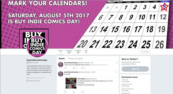 buy indie comics day