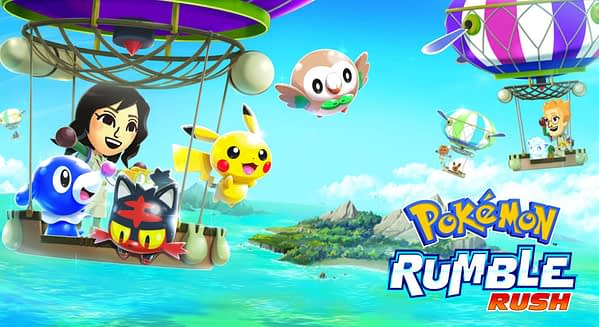 The Pokemon Company Announces Pokemon Rumble Rush for Mobile