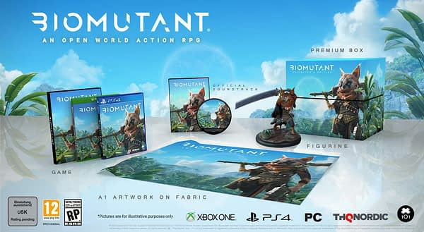 """Biomutant"" Atomic Edition & Collector's Edition Revealed"