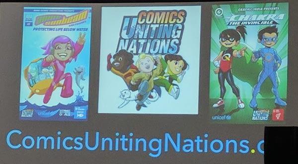comics uniting nations