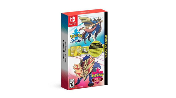 """""""Pokemon Sword and Shield"""" Steelbook Case is a US Target Exclusive"""