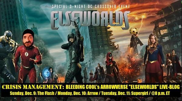 arrowverse elseworlds bts video