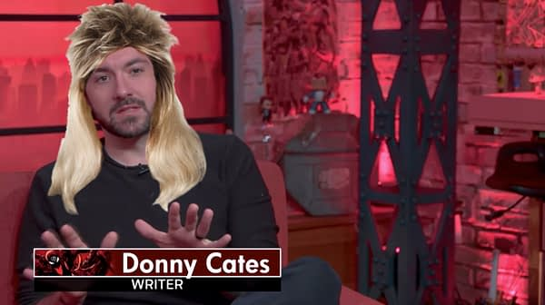 Absolute Mullet: Donny Cates Shares Hairstyle Update