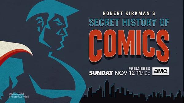 amc kirkman secret history comics teaser