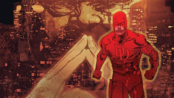 Daredevil #595 cover by Bill Sienkiewicz