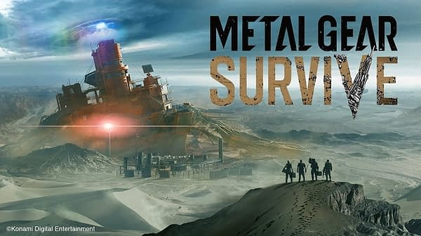 metal gear survive logo art